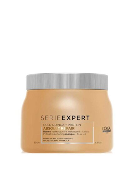 L'oreal Professionnel Loreal Gold Baume Absolut Repair Maske 500 ml