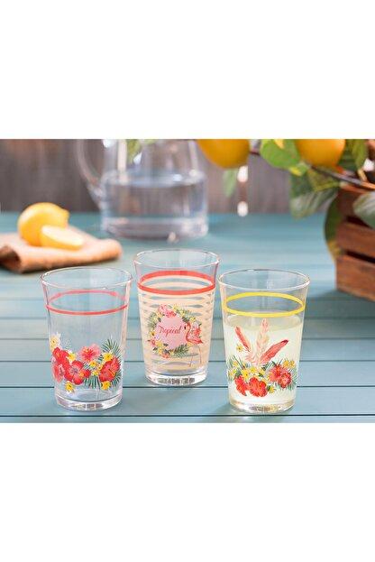 Madame Coco Flamingo  Su Bardağı Seti 200 ml 3Lü