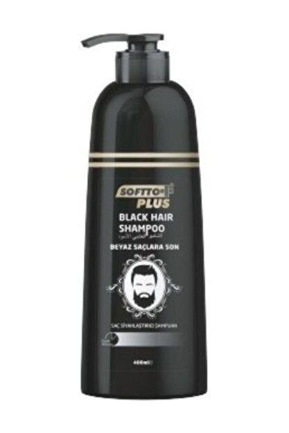 Softto Plus Black Hair Saç Siyahlaştırıcı Şampuan Pompalı 350 Ml