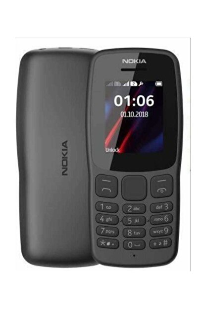 Nokia 112 Siyah Tuşlu Cep Telefonu İthalatçı Firma Garantili