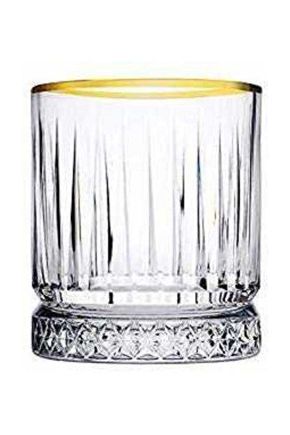 Paşabahçe Meşrubat Bardağı 4 Lü Elysıa Yaldızlı