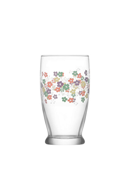 Lav Bahar Pastel 3 Parça Meşrubat Bardağı