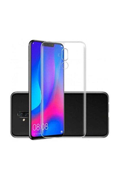 Telefon Aksesuarları Mate 20 Lite Toz Koruma Tıpalı Ultra Ince Şeffaf Silikon Kılıf
