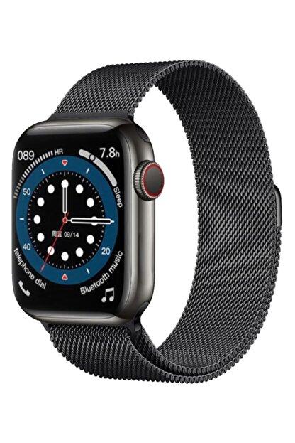 PATRİC Smartwatch 6 Pro Edition Plus - Yeni Versiyon Android Ve Ios Uyumlu Çelik Kordon Akıllı Saat