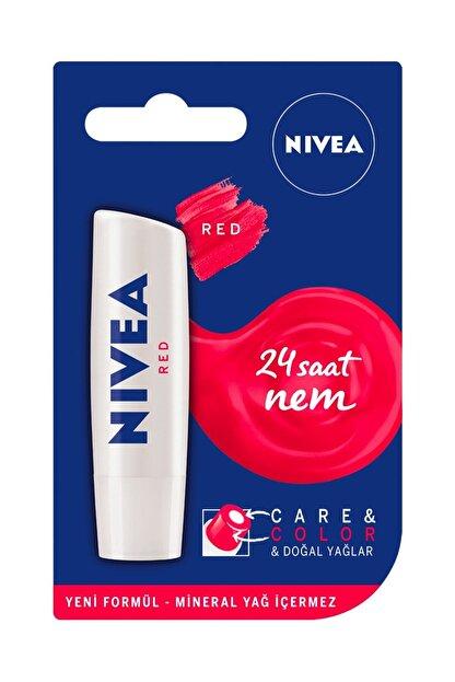 Nivea Care&colour Nude Dudak Balmı Kırmızı 4,8 gr