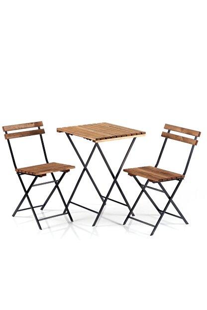 Weblonya Bistro Seti Bahçe Masa Sandalye Seti 2200