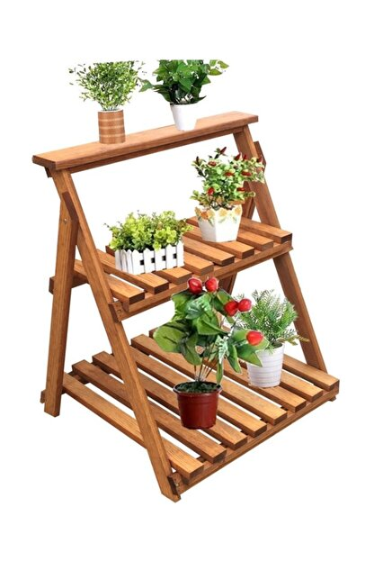 Weblonya Saksı Standı Çiçeklik Balkon Saksılığı