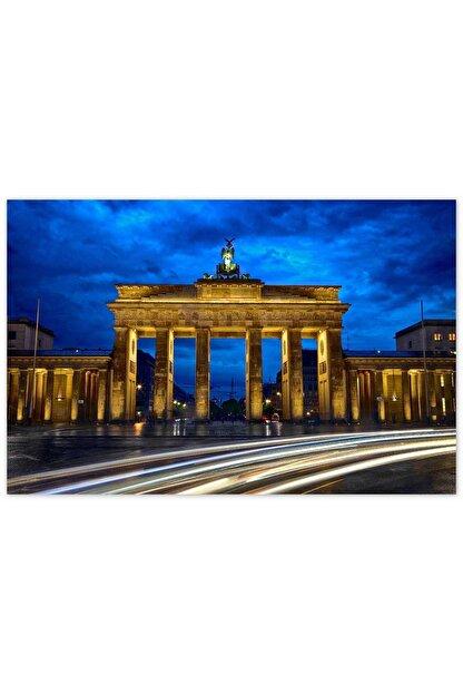 Cakatablo Ahşap Tablo Berlin Brandenburg Kapısı -35-50 Cm