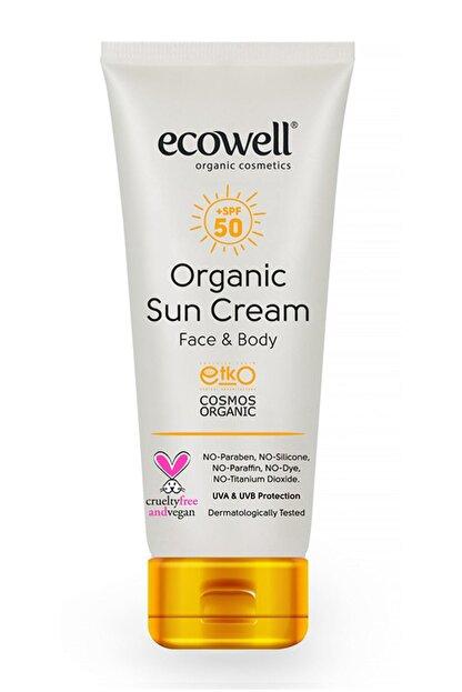 Ecowell Organik Güneş Kremi 50 Spf