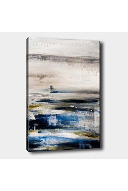 Shop365 Soyut Modern Kanvas Tablo 90x60 cm Sb-11205