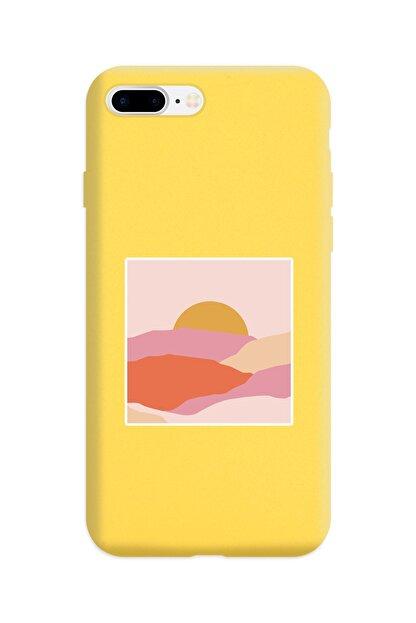 Spoyi Sarı Lansman Kılıf Iphone 8 Plus