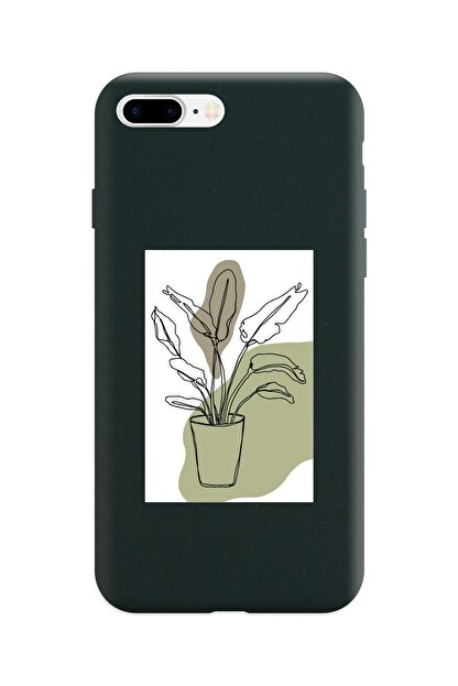 Spoyi Siyah Lansman Kılıf Iphone 8 Plus