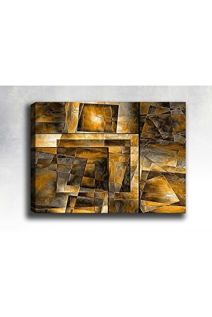 Shop365 Abstract Canvas Kanvas Tablo 135x90 cm Sb-29455