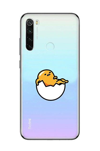 Mupity Kırılmış Yumurta Tasarımlı Iphone 11 Pro Max Şeffaf Telefon Kılıfı