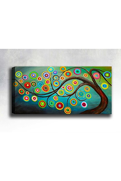 Shop365 Soyut Kanvas Tablo 150 x 100 cm Sb-3531