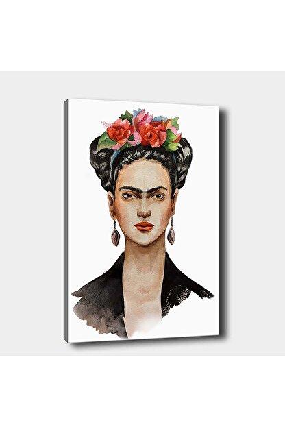 Shop365 Frida Kahlo Kanvas Tablo 45x30 cm Sb-15855