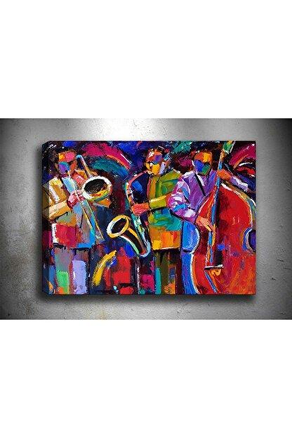 Shop365 Müzik Soyut Kanvas Tablo Sb-21636 45 x30 cm