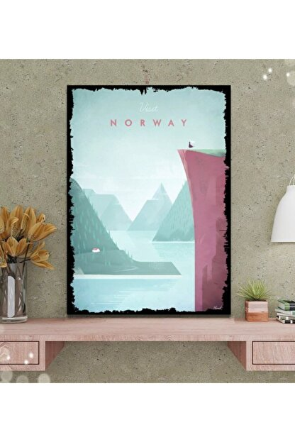 Tontilika Norveç Minimalist Tasarım Tablo 50x70 cm
