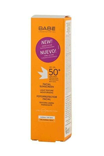 Babe Spf 50+ Yüz Için Güneş Koruyucu Krem 50 Ml