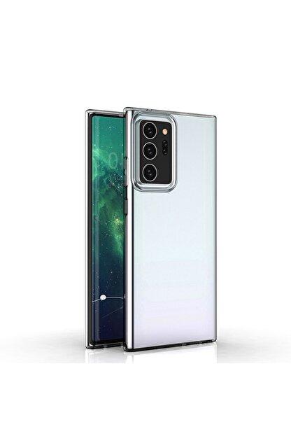 KNY Samsung Galaxy Note 20 Ultra Kııf Ultra Ince Şeffaf Silikon