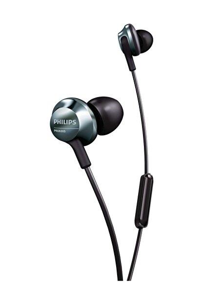 Philips PRO6305BK/00 Mikrofonlu Kablolu Kulak içi Kulaklık - Siyah