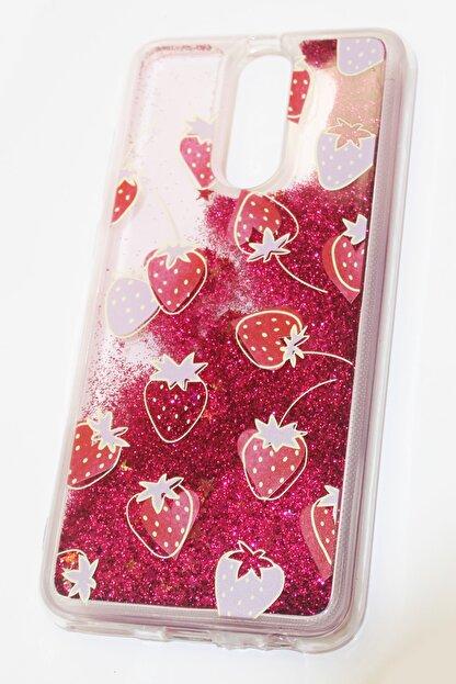 Dijimedia Huawei Mate 10 Lite Kılıf Renkli Sıvılı Lolly Silikon Koruma