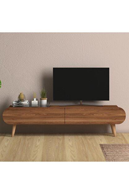 Monte Sehpa Lotus Tv Sehpası Ceviz