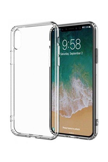 Telefon Aksesuarları İphone Xs Max Toz Koruma Tıpalı Ultra İnce Şeffaf Silikon Kılıf