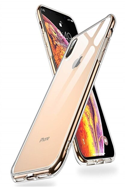 Mopal Iphone X/xs Slim Silikon Kılıf Şeffaf