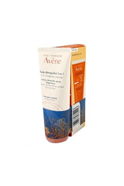 Avene Spf 50+ Cream 50 Ml Alana 3 In 1 Make Up Remover 50Ml