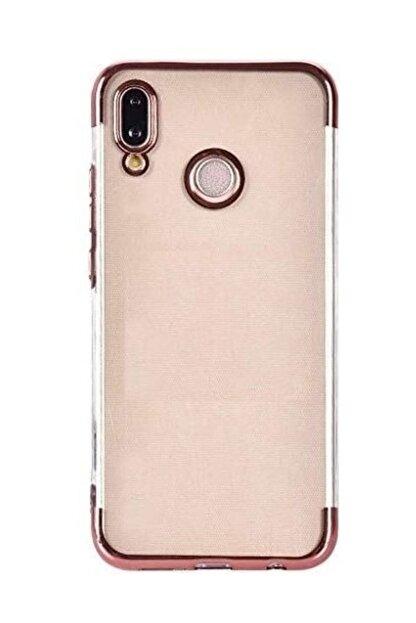 Happyshop Samsung Galaxy M10 Kılıf 4 Köşe Renkli Şeffaf Laser Silikon+Nano Cam Ekran Koruyucu