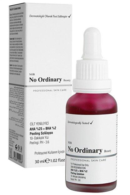 No Ordinary Aha 25%  Bha 2% Cilt Yenileyici Peeling Maske Serum 30 ml