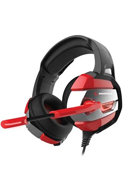 Rampage RM-K5 Noble 7.1 Surround Sound System USB Mikrofonlu Oyuncu Kulaklığı Siyah/Kırmızı