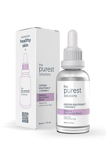 The Purest Solutions Göz Altı Torbalanma Ve Morluk Karşıtı Bakım Serumu 30 Ml (caffeine Solutions 5% + Vitamin C)
