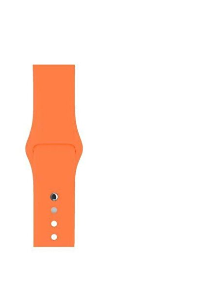 Melefoni Apple Watch 38mm Kordon Silikon Kayış Pembe