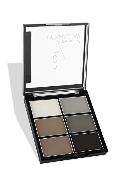 Newmacy 6'lı Mat Göz Farı Paleti - 6 Colors Eyeshadow Palette 01 8681702001902