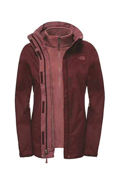 The North Face W evolve II triclimate Kadın Mont