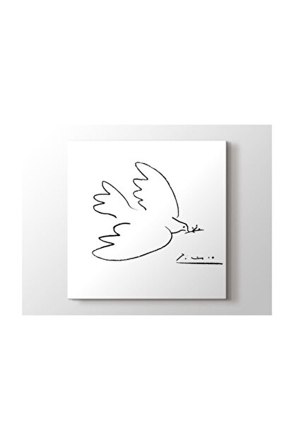 2645 Sanat Pablo Picasso - Dove Of Peace Tablo