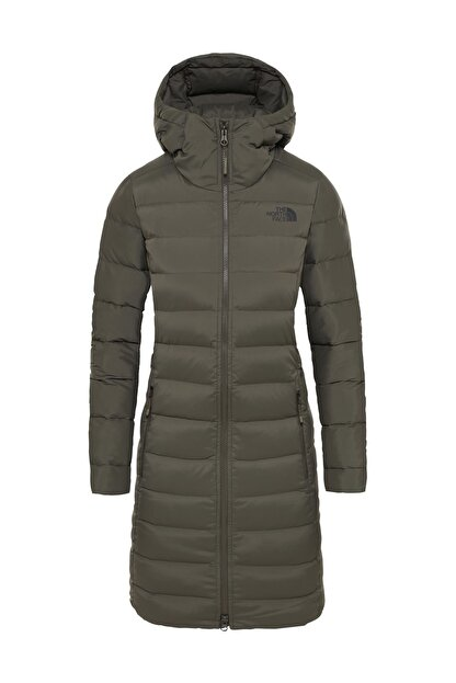 The North Face Stretch Down Kadın Outdoor Mont Haki