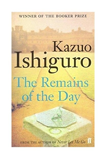 faber And Faber The Remains Of The Day - Kazuo Ishiguro