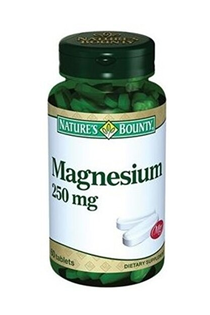 Natures Bounty Nature's Bounty Magnesium 250 mg 60 Tablet