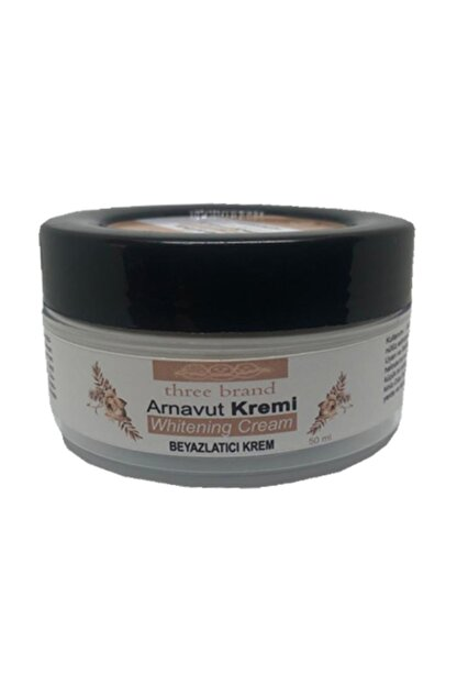 Three Brand Whitening Cream Arnavut Kremi 50 ml Aklık Kremi