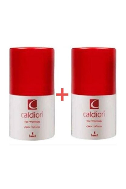 Caldion Bayan Rolon Deo 50ml Roll On X 2 Adet