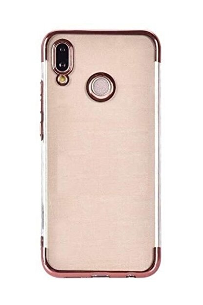 CaseStreet Samsung Galaxy A30 Kılıf Colored Silicone+nano Glass Bronz