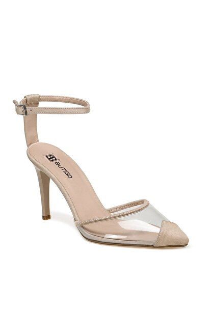 Butigo RUBEN Bej Kadın Topuklu Ayakkabı