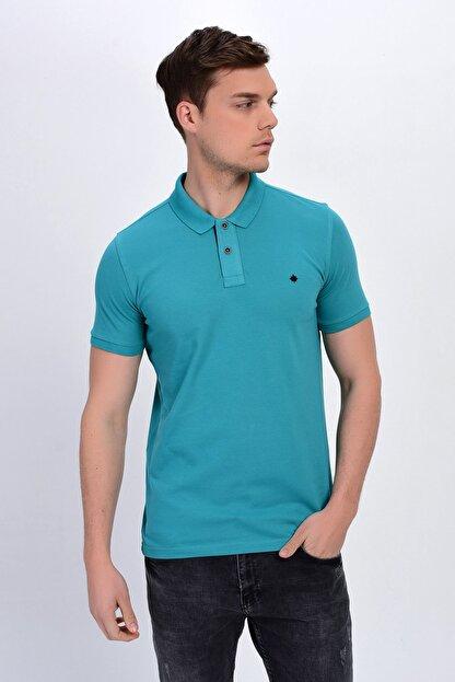 Dynamo Erkek Mint Polo Yaka Likralı T-shirt T621