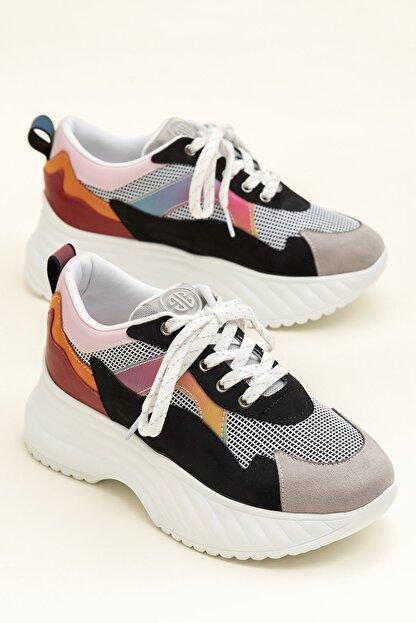 Elle DEVONA Siyah / Multı Kadın Sneaker