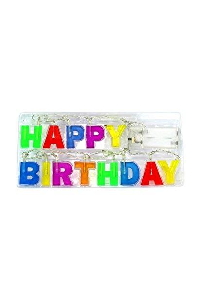 Süsle Baby Party Happy Birthday Pilli Led Işık 1,20mt