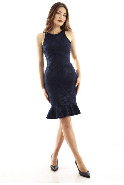 Ardanewline Kadın Lacivert Elbise 130136-10