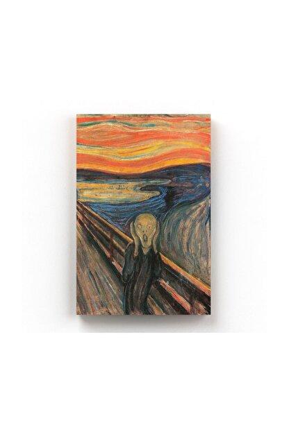 Shop365 Edvard Munch Çığlık The Scream Kanvas Tablo 40 X 60 Cm Tb-4952O